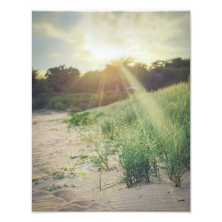 Rays of Sunshine in Scotland Photographic Print