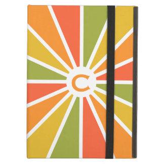 Rays Pattern custom monogram cases