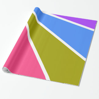 Rays Pattern custom wrapping paper