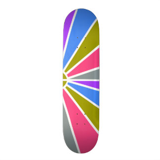 Rays Pattern skateboards