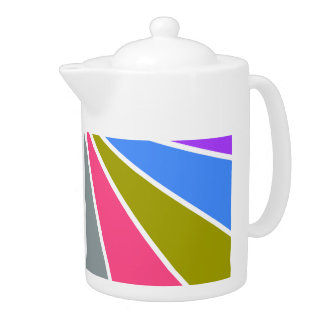 Rays Pattern teapot