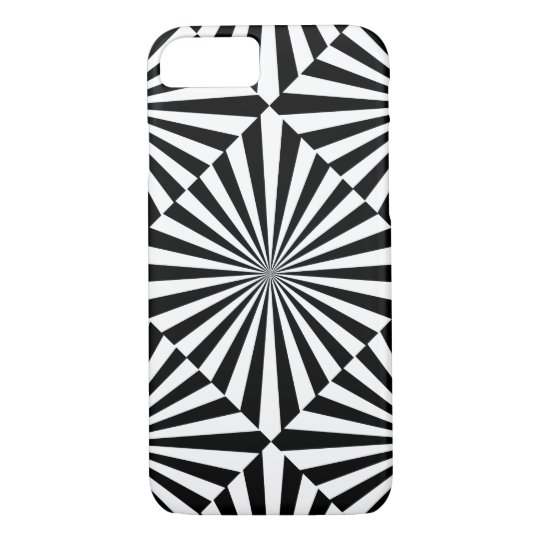 RAYS transparent (a black & white design) ~ iPhone 8/7 Case