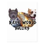 rays world bullies postcard