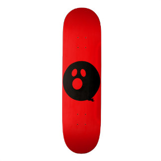 Rayshine GHOST™ Black and Red Skateboard