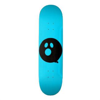 Rayshine GHOST™ Black and Sky Blue Skateboard