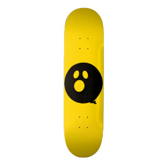 Rayshine GHOST™ Black and Yellow Skateboard