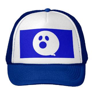 Rayshine GHOST™ Brand Blue & White Trucker Hat