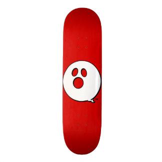 Rayshine GHOST™ Brand Bold Red Skateboard