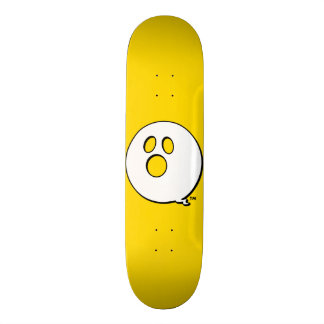 Rayshine GHOST™ Brand Bold Yellow Skateboard
