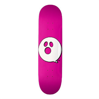 Rayshine GHOST™ Brand Hot Pink Skateboard
