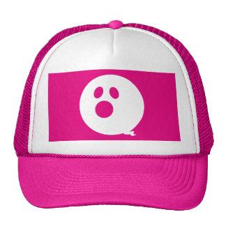 Rayshine GHOST™ Brand Pink & White Trucker Hat