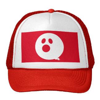 Rayshine GHOST™ Brand Red & White Trucker Hat