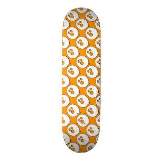 Rayshine GHOST™ Pop Art Orange & White 18.1 Cm Old School Skateboard Deck