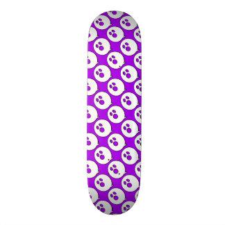 Rayshine GHOST™ Pop Art Purple & White Skateboard