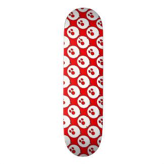 Rayshine GHOST™ Pop Art Red & White Skateboard