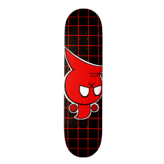 Rayshine GHOST TOON™ Red Ghost Skateboard Deck