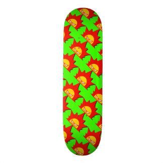Rayshine Skate™ Brand Apple Green Skateboard Deck