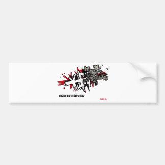 razer butterflies bumper sticker