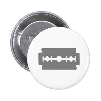Razor Blade 6 Cm Round Badge