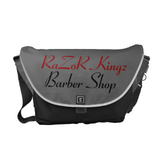 RaZoR Kingz Barber Shop Promotional Courier Bags