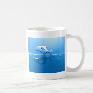 Razor Sharp Basic White Mug