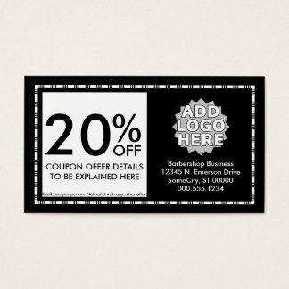 razor stripes coupon card