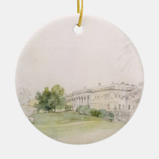Razumovsky Palace (pencil & w/c) Christmas Ornament