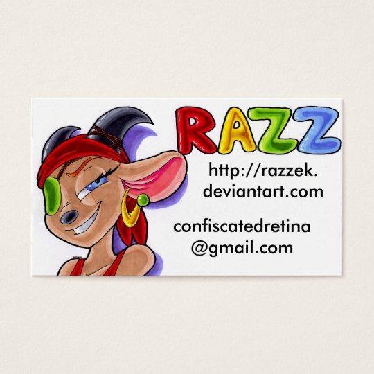 Razz Business Cards