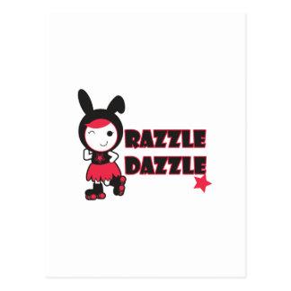 Razzle Dazzle Postcard