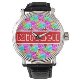 RB Diamonds Personalized Watch