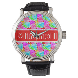 RB Diamonds Personalized Wristwatch