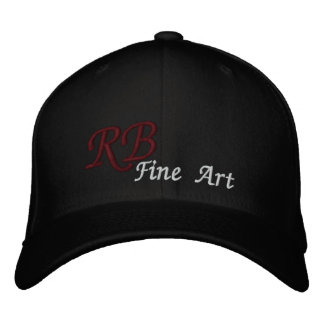 RB Fine Art Basic Embroidered Hat