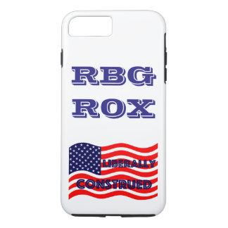 RBG ROX Ginsburg Liberal Democrat Democratic Party iPhone 7 Plus Case