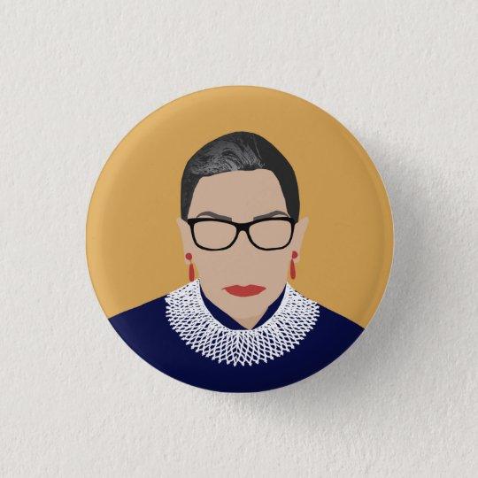 RBG- Ruth Bader Ginsburg Feminist Button