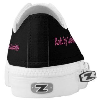 RBL low top zip sneakers
