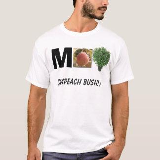rbush, peach, M, (Impeach Bush!) T-Shirt