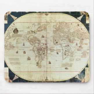 Rc C 2487 Map of the World, designed by Sebastien Mouse Mat