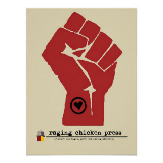 RCP Poster | Hand in Fist, Heart on Sleeve
