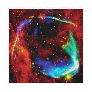 RCW 86 Supernova Gallery Wrapped Canvas