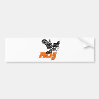 RD5bikeSlant.png Bumper Sticker