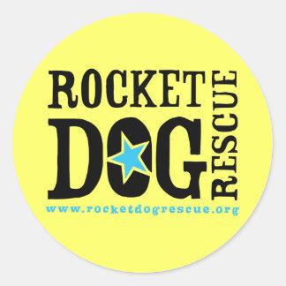RDR Logo (blk/blue) Classic Round Sticker