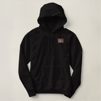 RDR Logo Embroidered (red/blk) Hoodie