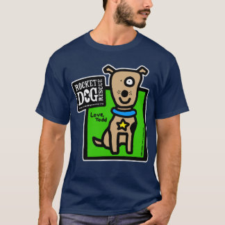 RDR - Todd Parr (brown dog) T-Shirt