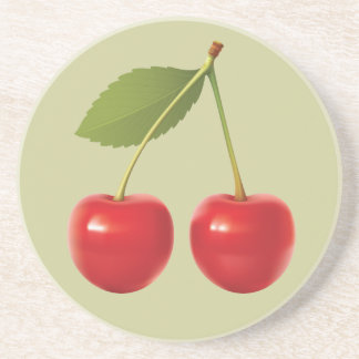 Re Cherries Coaster