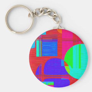 Re-Created Building Blocks Keychains