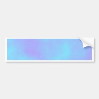 Re-Created Clouds Car Bumper Sticker