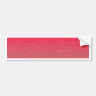 Re-Created Color Field Bumper Sticker