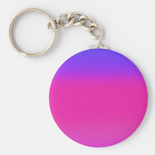 Re-Created Color Field Keychain