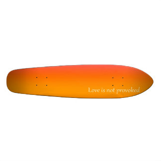 Re-Created Color Field with LOVE by Robert S. Lee 21.3 Cm Mini Skateboard Deck