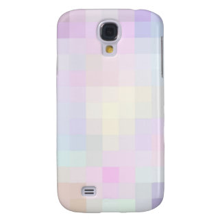 Re-Created Colored Squares Galaxy S4 Covers